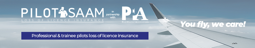 Pilot SAAM Loss of Licence Insurance Front New