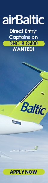 airBaltic Direct Entry Captains DHC-8 Q400 Side from 07-01