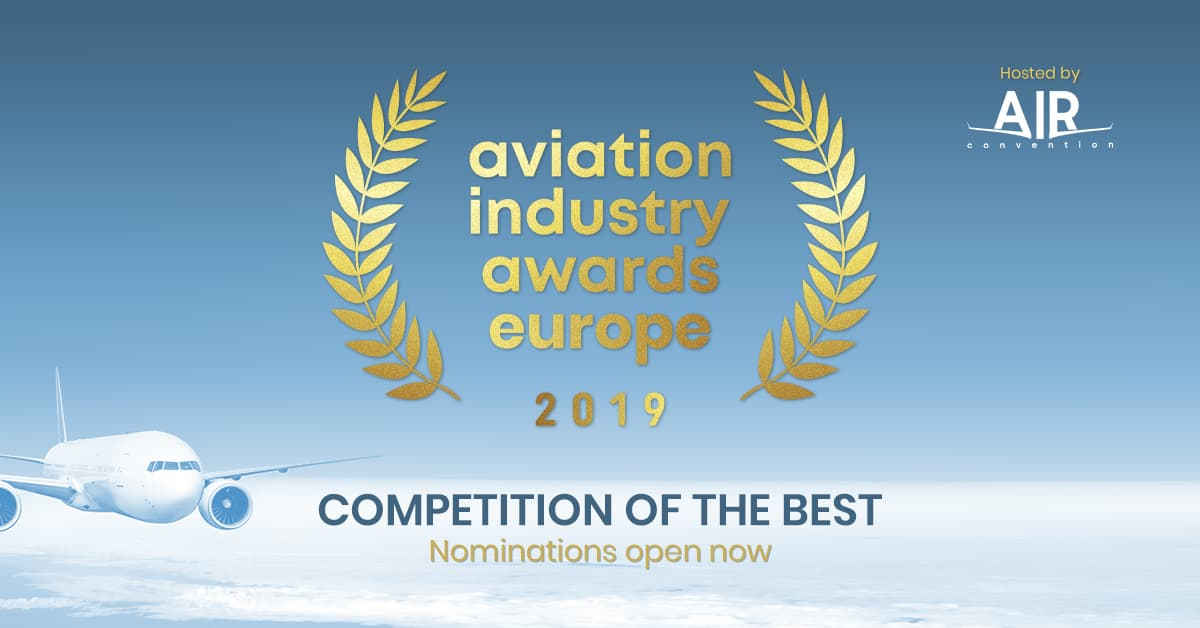 Aviation Industry Awards Europe 2019 announced the winners